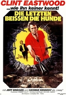 Thunderbolt And Lightfoot - German Movie Poster (xs thumbnail)