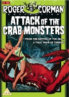 Attack of the Crab Monsters - British DVD movie cover (xs thumbnail)