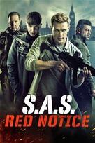 SAS: Red Notice - British Movie Cover (xs thumbnail)