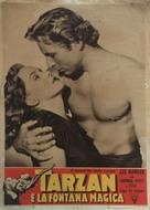 Tarzan's Magic Fountain - Italian Movie Poster (xs thumbnail)
