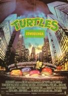 Teenage Mutant Ninja Turtles - German Movie Poster (xs thumbnail)