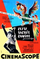 Cette sacrée gamine - French Movie Poster (xs thumbnail)