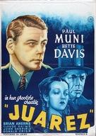 Juarez - Dutch Movie Poster (xs thumbnail)