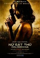 Colombiana - Vietnamese Movie Poster (xs thumbnail)