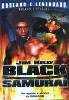 Black Samurai - Brazilian DVD cover (xs thumbnail)