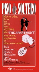 The Apartment - Argentinian VHS movie cover (xs thumbnail)