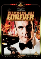 Diamonds Are Forever - British Movie Cover (xs thumbnail)