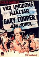 The Plainsman - Swedish Movie Poster (xs thumbnail)
