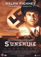 Sunshine - British DVD cover (xs thumbnail)