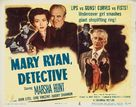 Mary Ryan, Detective - Movie Poster (xs thumbnail)