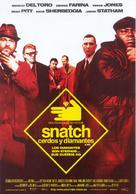 Snatch - Spanish Movie Poster (xs thumbnail)