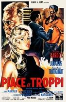 Et Dieu... créa la femme - Italian Movie Poster (xs thumbnail)
