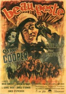 Beau Geste - Italian Movie Poster (xs thumbnail)