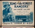 King of the Forest Rangers - Movie Poster (xs thumbnail)