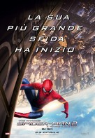 The Amazing Spider-Man 2 - Italian Movie Poster (xs thumbnail)