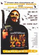 Killing Zoe - Movie Poster (xs thumbnail)