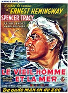 The Old Man and the Sea - Belgian Movie Poster (xs thumbnail)