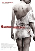 I Spit on Your Grave - Turkish Movie Poster (xs thumbnail)