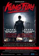 Kung Fury - British Movie Poster (xs thumbnail)