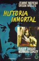 The Immortal Story - Argentinian Movie Poster (xs thumbnail)
