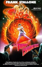 The Pink Chiquitas - German VHS cover (xs thumbnail)