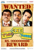 One Two Three - Indian poster (xs thumbnail)