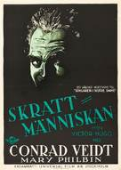 The Man Who Laughs - Swedish Movie Poster (xs thumbnail)