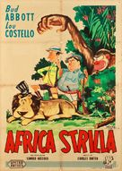Africa Screams - Italian Movie Poster (xs thumbnail)
