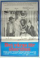 Blazing Saddles - Swedish Movie Poster (xs thumbnail)