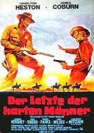 The Last Hard Men - German Movie Poster (xs thumbnail)
