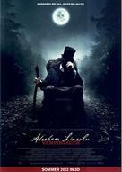 Abraham Lincoln: Vampire Hunter - German Movie Poster (xs thumbnail)