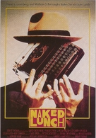 Naked Lunch - German Movie Poster (xs thumbnail)