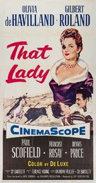 That Lady - Movie Poster (xs thumbnail)