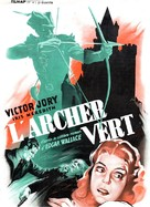 The Green Archer - French Movie Poster (xs thumbnail)