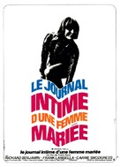 Diary of a Mad Housewife - French Movie Poster (xs thumbnail)