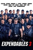 The Expendables 3 - French Movie Cover (xs thumbnail)
