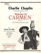 Burlesque on Carmen - British Movie Poster (xs thumbnail)