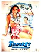 Tahiti ou la joie de vivre - French Movie Poster (xs thumbnail)