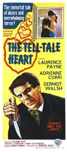 The Tell-Tale Heart - Australian Theatrical movie poster (xs thumbnail)