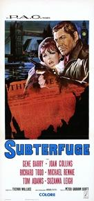 Subterfuge - Italian Movie Poster (xs thumbnail)
