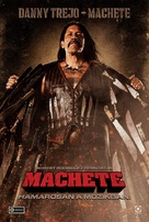 Machete - Hungarian Movie Poster (xs thumbnail)