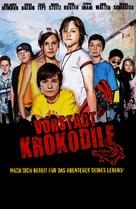 Die Vorstadtkrokodile - German Movie Poster (xs thumbnail)