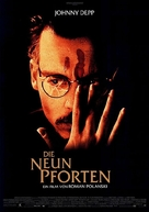 The Ninth Gate - German Movie Poster (xs thumbnail)