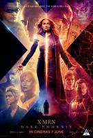 X-Men: Dark Phoenix - South African Movie Poster (xs thumbnail)