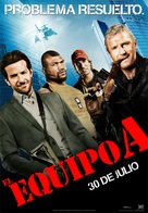 The A-Team - Spanish Movie Poster (xs thumbnail)