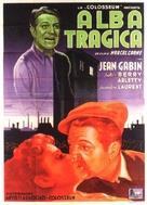 Le jour se lève - Italian Movie Poster (xs thumbnail)