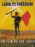 Land and Freedom - French Movie Poster (xs thumbnail)