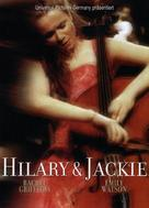 Hilary and Jackie - German DVD cover (xs thumbnail)