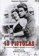 Forty Guns - Spanish DVD cover (xs thumbnail)