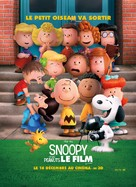 The Peanuts Movie - French Movie Poster (xs thumbnail)